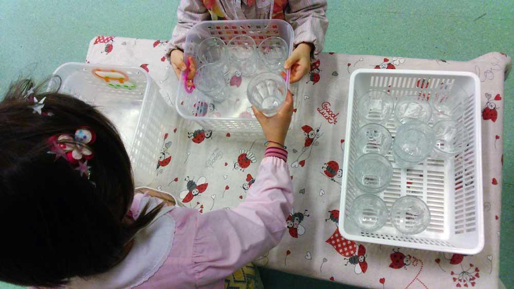 La cucina Montessori