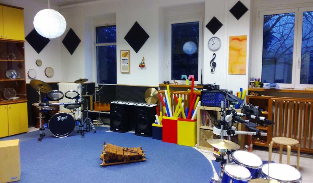 Aula di musica alla scuola Primaria